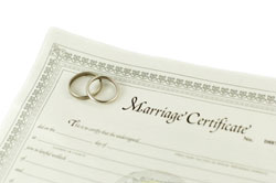 DC Marriage License Signing Service