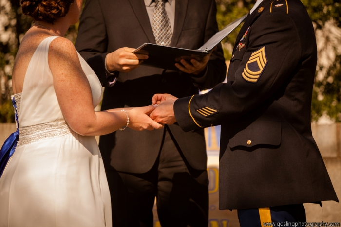 Military Wedding Ceremony Washington DC