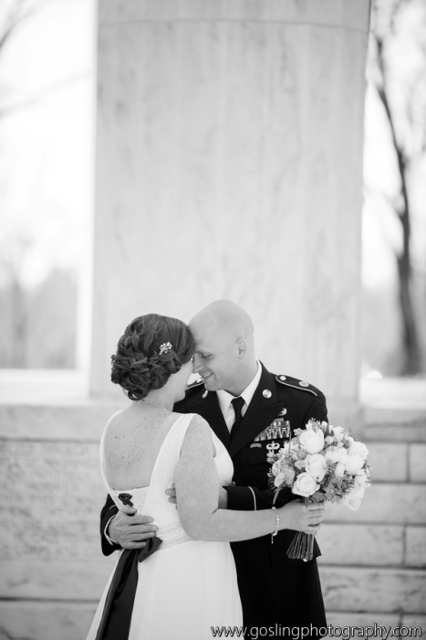 Washington DC Military Elopement Ceremony