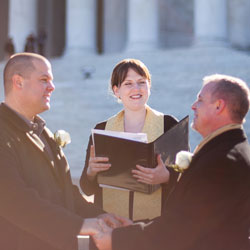 Washington DC Elopement Ceremony Services
