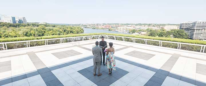 If Youu0027re Looking For Sweeping Panoramic Views The Roof Terrace At The  Kennedy Center Is A Sure Bet. Our Couples Say It Has U201can Amazing View  Of The ...