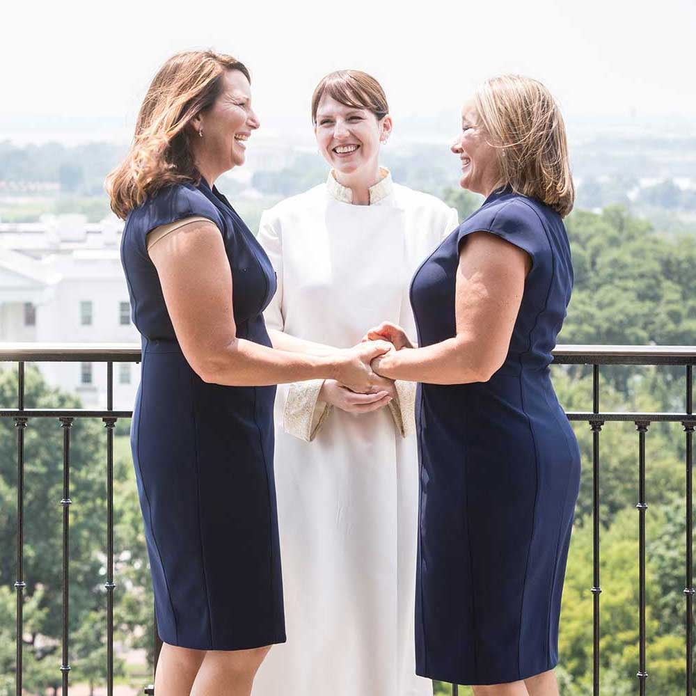 DC Hay Adams Elopement Photos