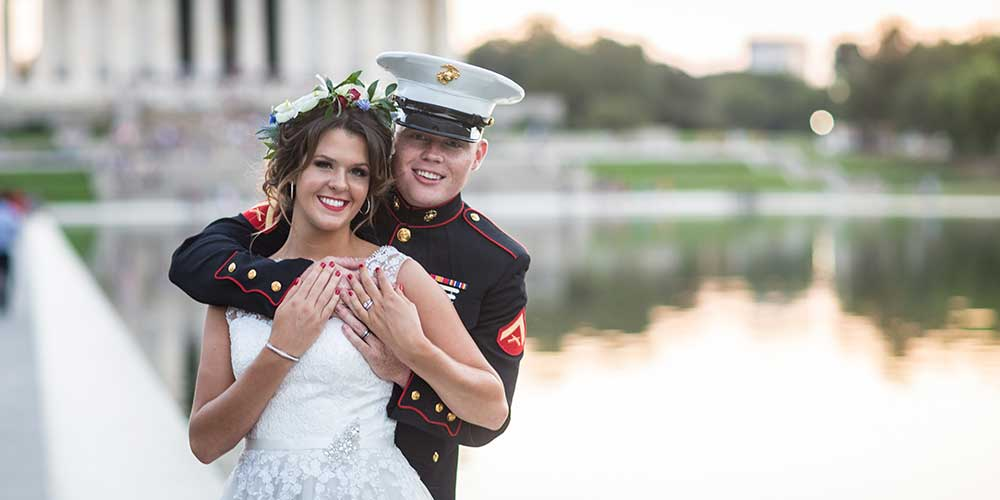 DC Military Elopement