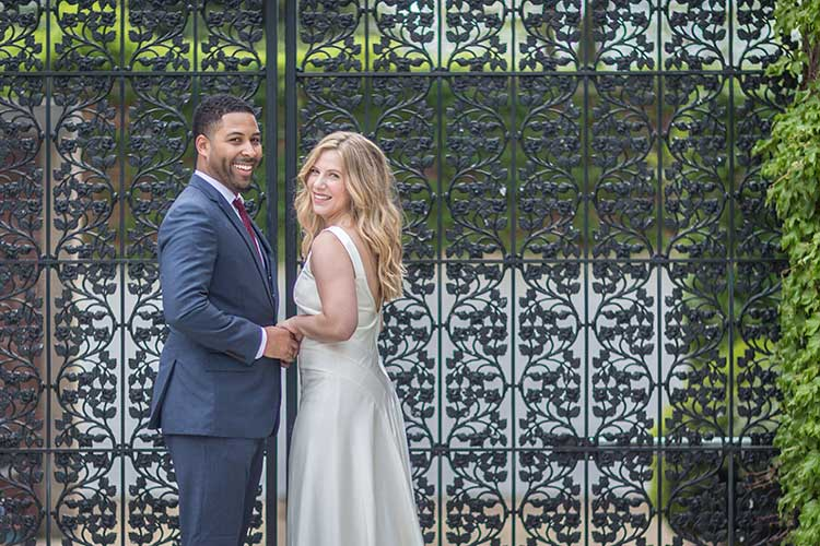 DC Spanish Steps Elopement Photos