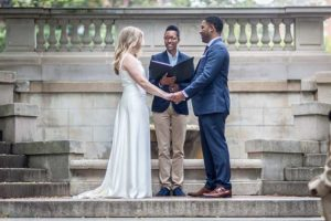 DC Spanish Steps Marriage Ceremony