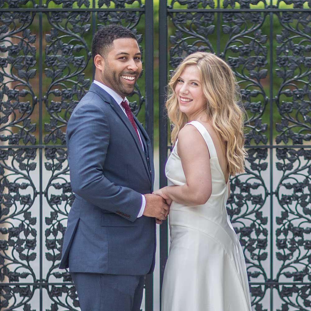 DC Spanish Steps Wedding Ceremony