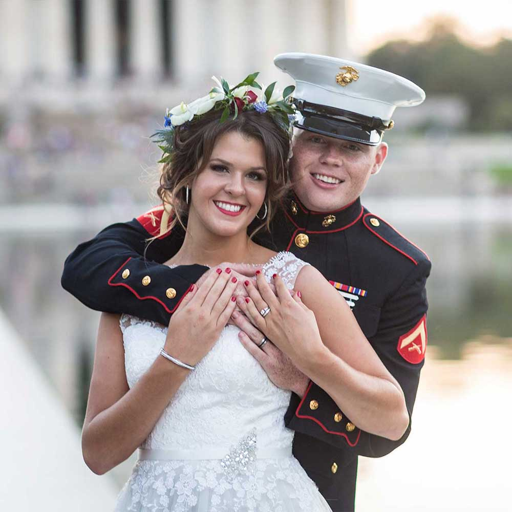 DC War Memorial Wedding Photos