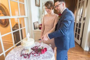 DC Woodrow Wilson House Wedding Cake