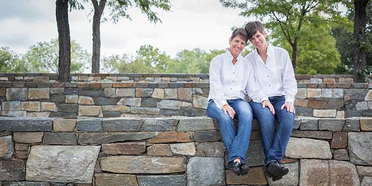 Washington DC Lesbian Elopement Ceremony